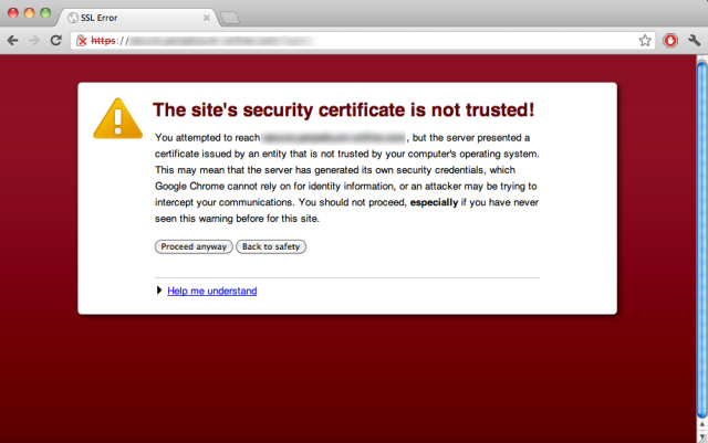 Browsers are sending alerts for non-secure sites